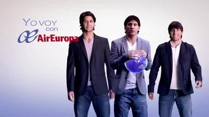 Volare - Messi, Aguero, Verdasco (air Europa Ad) [hq]