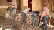 Syria: Armenian aid convoy arrives in Aleppo