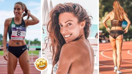 Чаровната Ивет Лалова впечатли Мадрид не само с рекордно бягане! Вижте я!