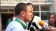 Новият шеф в Берое: Илиан Илиев е нашият човек