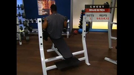 Muscle amp Fitness - Chest and shoulders - Part 2