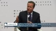 Дейвид Камерън защити решението си за референдума за Брекзит