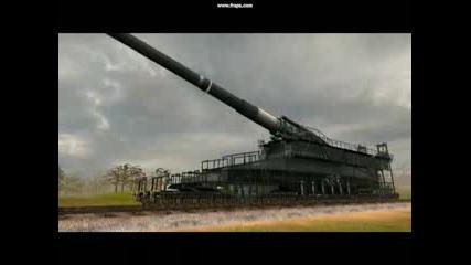 Немското Оръдие Dora От Panzers Phase 1