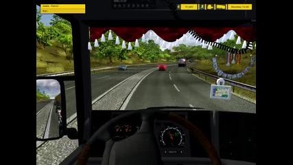 Euro Truck Simulator Skania Mod