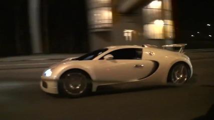 Bugatti Veyron Срещу Nissan Gt-r