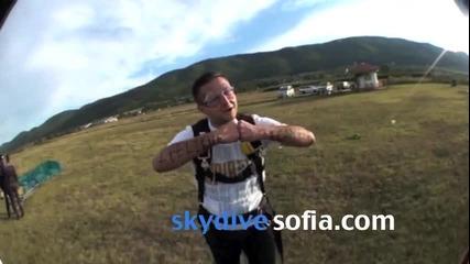 С пожелания за Приятен Ден и добра седмица от Skydive Sofia