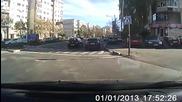 Ето така се прави бърза измама на пътя с цел да се изкара някой лев за 2 секунди!