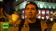 Spain: Hundreds protest 'imperialist coups' in Latin America