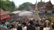 A Look at Thailand's Epic Water Fight Known as Songkran