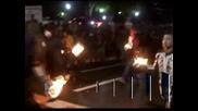 Традиционен огнен фестивал в Ел Салвадор