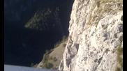 Гледка от Орловото око до село Ягодина