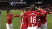 Бербатов Бележи За 3:0 - Манчестър Юнайтед - Челси (High Quality)
