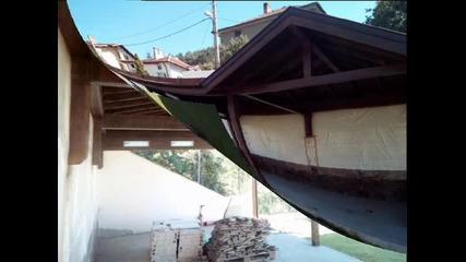 Летна кухня от дърво - дървен навес за дворно барбекю от фирма Хамър Билд Еоод, град София