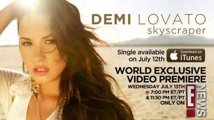 Demi Lovato - Skyscraper Teaser