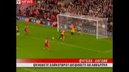 Феновете на Ливърпул предприеха атака срещу Хикс и Джилет