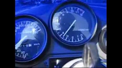 Yamaha Fzr1000 с 280км/ч. по магистралата!