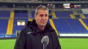 Димитров: Поемам отговорността за поражението