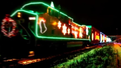 In A Boogie Woogie Train - Santa Claus Is Coming - Hd