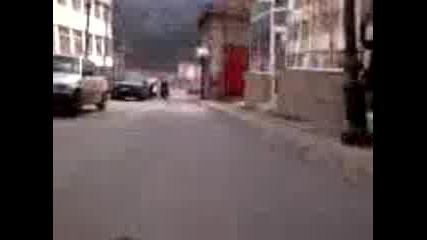Спускане Със Скейт 30km/h - Смолян