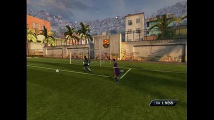 Leo Messi trаin on fifa 11