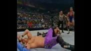The Rock & Chris Jericho vs. Stone Cold & Kurt Angle - Wwf Smackdown 15.11.01