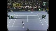 Тенис Класика : Федерер - Сампрас Забавна точка