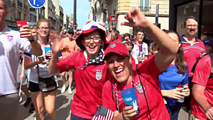 France: US fans swarm Reims ahead of WWC clash with Spain