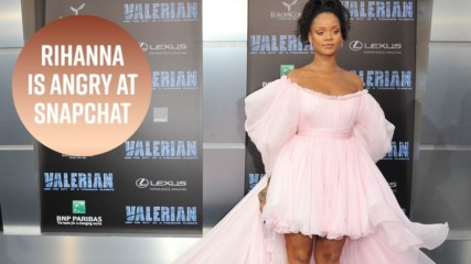 Rihanna accuses Snapchat of promoting domestic violence