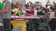 Germany: Election workers count postal votes in Munich