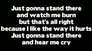 Rihanna - Love The Way You Lie (part 2) ft. Eminem Lyrics