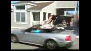 Болезнен опит за предкачане на кола