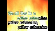 Караоке Beatles - Yellow Submarine