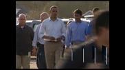 "Обама посети пострадалия от урагана ""Айзък"" щат Луизиана"