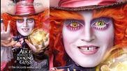 8 бр. плакати на Алиса в огледалния свят (2016) Alice through the Looking glass official posters hd