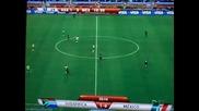 Южна Африка 1 - 0 Мексико (гол на tshabalala) Световното по футбол 2010 11.06.2010