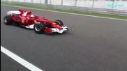 F1 болид - не се стърпя да го завърти