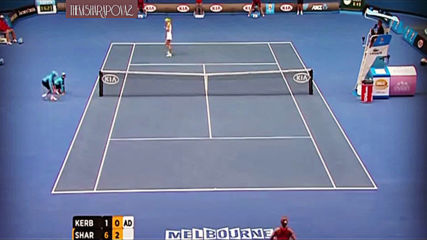Maria Sharapova vs Angelique Kerber Ao 2012 Highlights 1080p