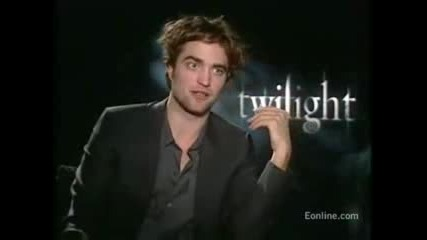Rob And Kris Talk About Their Kiss