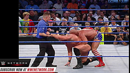 Brock Lesnar outlasts Kurt Angle in 60-Minute WWE Iron Man Match: SmackDown, Sept. 18, 2003