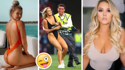 Мистерия: Голата мацка от финала на Шампионска лига остана без Instagram