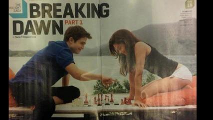 Нови снимки от Twilight saga: Breakig Dawn