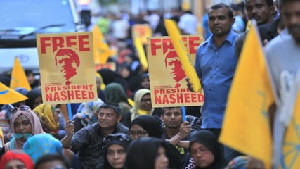 No Pardon for Jailed Maldives Ex-President