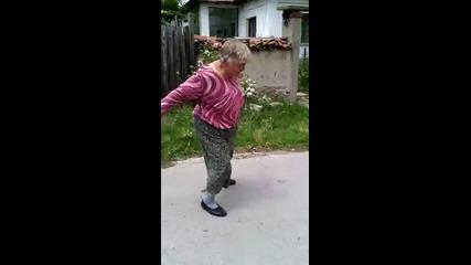 Бабата се разбива много мазно