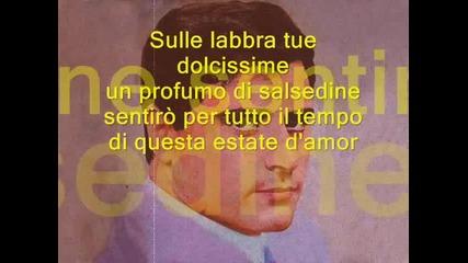 Abbronzatissima Edoardo Vianello Lyric (learn italian singing)