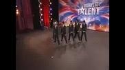 Танц на момчета - Britains Got Talent