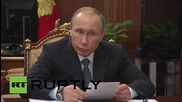 Russia: Putin sets out socio-economic development goals at Moscow meeting