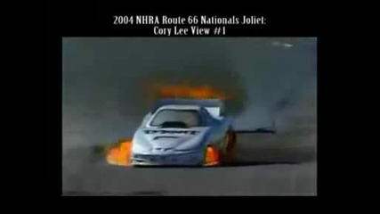 Drag Racing Crashes - The copyright owner has claimed the music of this video