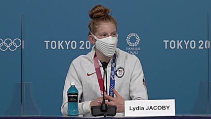 Japan: We were 'confused' what they were - US gold swimmer Lydia Jacoby on 'Bane' masks