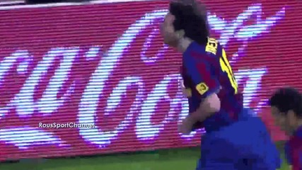 Lionel Messi Top 5 goals !!! Hd