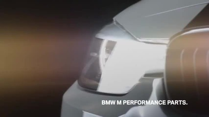Bmw M Performance Steering wheel with digital display in action